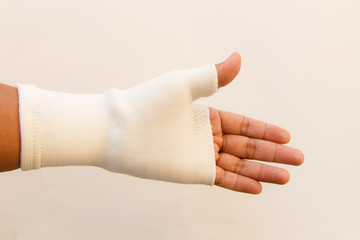 Player's hand