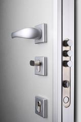 Wooden doors with lock 4
