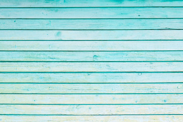 Blue wood plank wall texture background