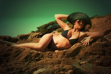 plage vintage