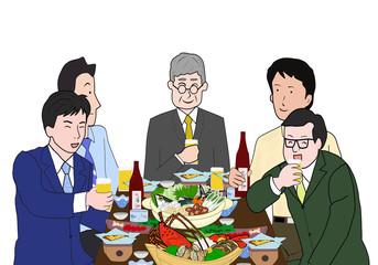 男達の宴会