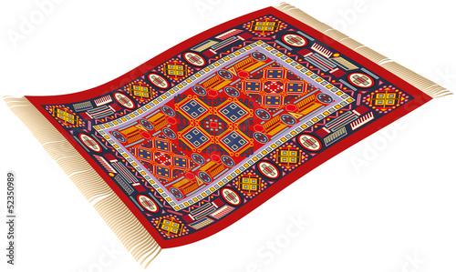 Magic Carpet ( Fliegender Teppich ) Stockfotos und