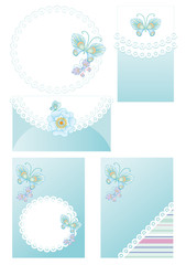 backgrounds and frames for greetings with a newborn boy