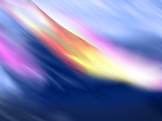 multicolor liquid