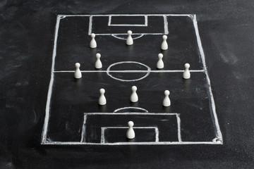 Tafel / Taktik 3-4-3