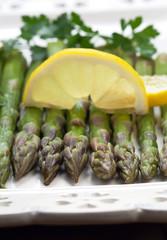 Asparagus on a plate - Asparagi nel piatto