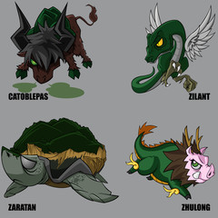 Mythical Creatures Set 25