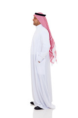 side view of an arabic man