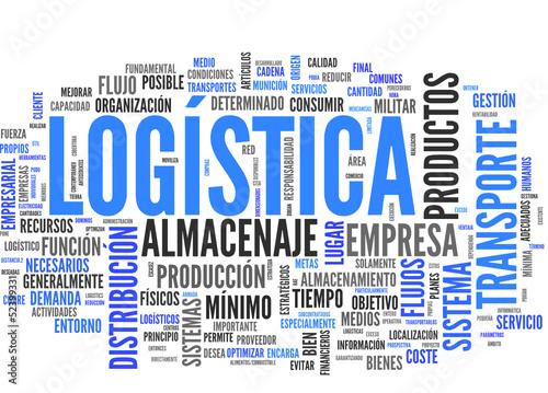 """""""Logística (transporte, Almacenaje, Distribución; Tag"""