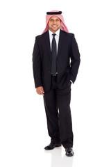 arabian businessman in suit