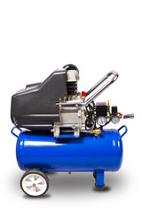 Air compressor with clipping path