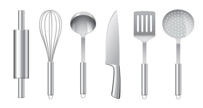 Ustensiles de cuisine vectoriels 2