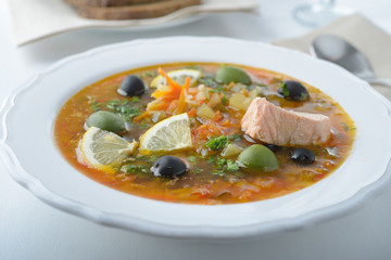 Fish solyanka