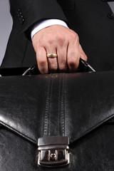 Obraz biznesmen - fototapety do salonu
