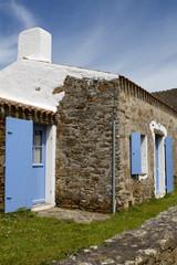 maison en pierre de l'île d'Yeu