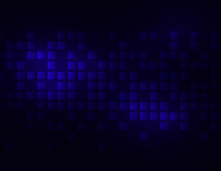 Vector blue cube background