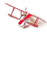Model plane vintage isolated