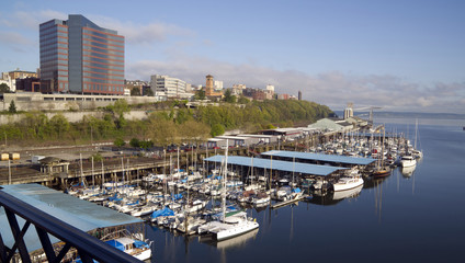 Commencement Bay Waterfront Extending North to Stadium District