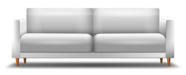 Weißes Sofa Vektor