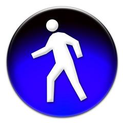 Pedestrian icon illustration