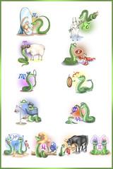 год змеи - знаки зодиака