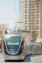 Jerusalem Light Rail tram train