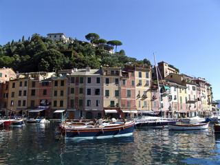 Canvas Prints Liguria The famous Portofino village