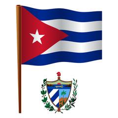 cuba wavy flag