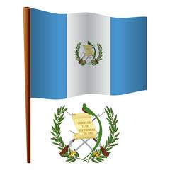 guatemala wavy flag
