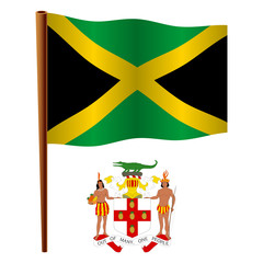 jamaica wavy flag