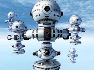 Außerirdische Raumschiffe