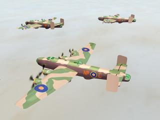 Heavy Bomber Halifax