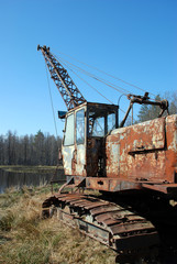 Old earth mover