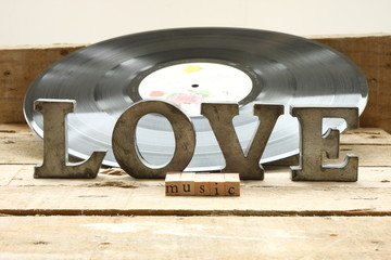 Record and love