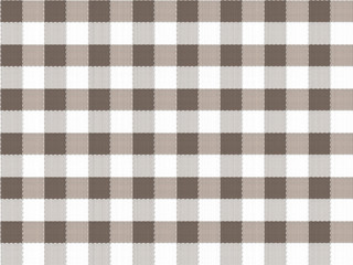 Brown table cloth seamless vector pattern
