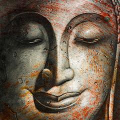 art picture peaceful face