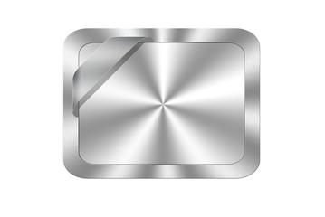 Aluminum card.