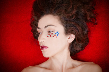 Fourth of July Woman