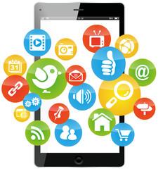 social media marketing mobile cellphone