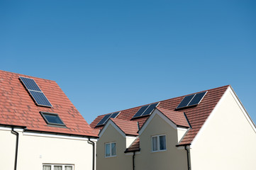 Houses Using Solar Energy.