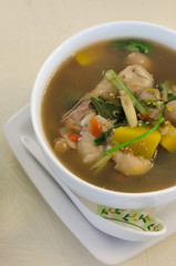 asian spicy soup