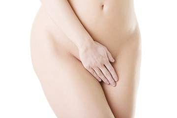 Close up photo of nude body