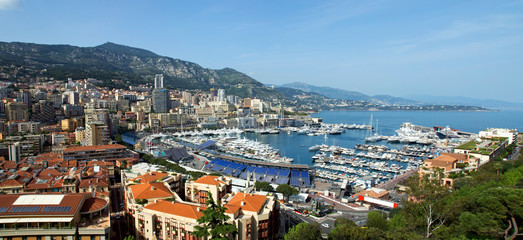 Monaco - Monte Carlo panorama