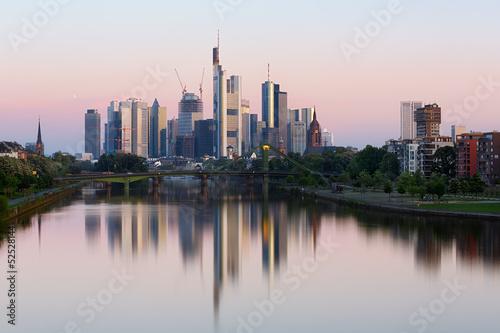 Wall mural Frankfurt skyline