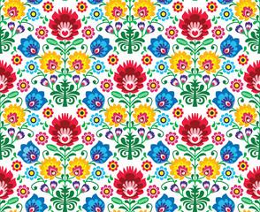 Bezszwowy kwiecisty połysku wzór - pochodzenie etniczne - 52532544