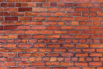 Traditional English brick wall
