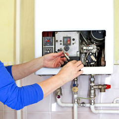 plumber gas heating
