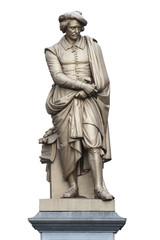 Amsterdam - Statue de Rembrandt (Rembrandtplein)