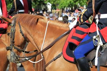 les chevaux de la garde républicaine