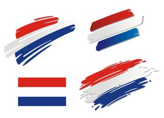 Brush Flags Netherlands